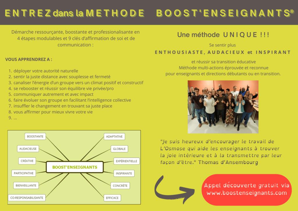 flyer 2 Boost'Enseignants L Osmose